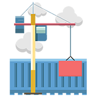 Sales Cloud implementation represented by construction