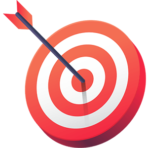 Salesforce Marketing Cloud implementation represented by dart board