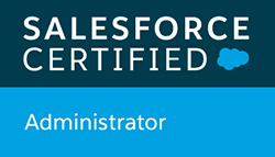 Salesforce Certified Administrator badge
