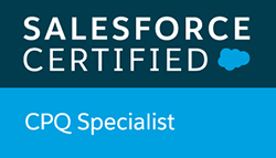 Salesforce Certified CPQ Specialist Badge