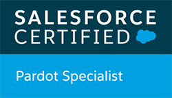 Salesforce Certified Pardot Specialist badge